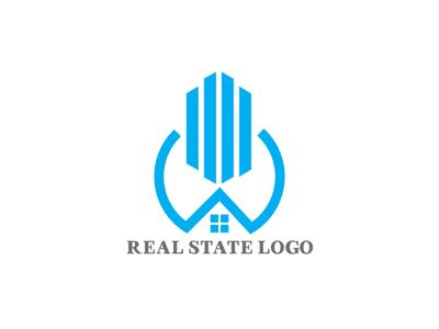Real state logo design