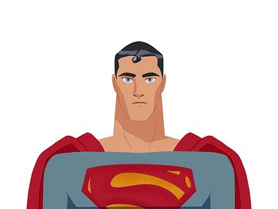 Superman vis dev procreate kryptonian dc comics design character design superman lafespaceart