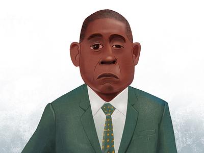 Godfather of Harlem ipad art procreate epix forest whitaker bumpy johnson art illustration design character design lafespaceart