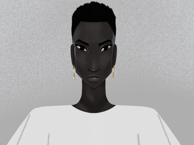 Miss Universe animation illustration character design lafespaceart