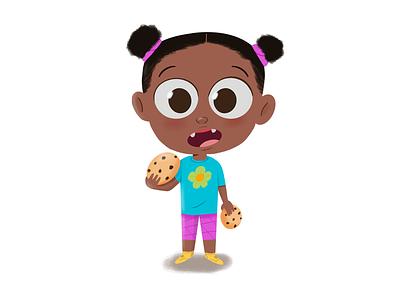 Cookie snatcher design procreate lafespaceart character design character illustration