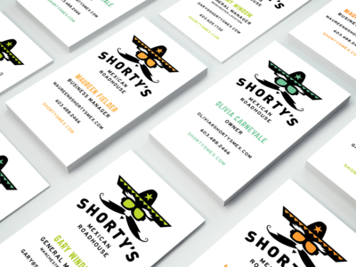 Shorty's Business Cards