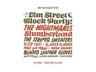 Elm Street Block Party