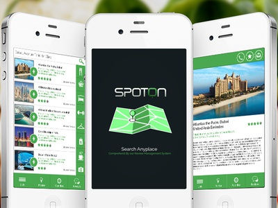 SpotOn App Design | 2015
