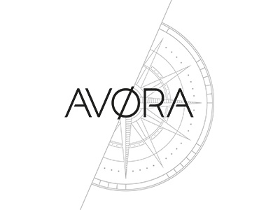 AVØRA compass craft illustrator avora new branding watch design logo
