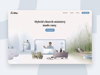 Altar Homepage app web ux ui typography design brand geometry illustration minimal