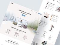 Altar Homepage web design website icon web ui ux identity brand design illustration minimal