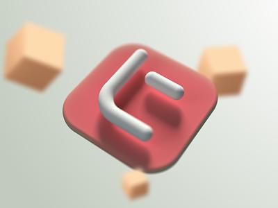 Trinity 3D Kit Mark typography app icon identity 3d brand illustration mark logo minimal