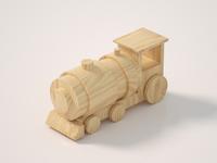 Wooden Locomotive