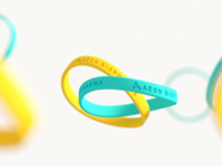 Aeon Silicone wrist bands