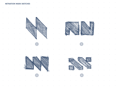 NN Mark sketches n sketch design brand geometry icon minimal logo mark