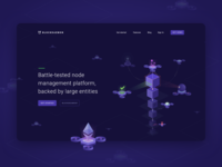 Blockdaemon Landing page