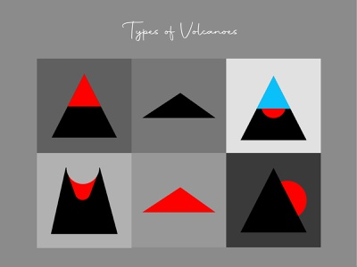 Icon design - Volcanoes dataviz data visualization science volcanoes volcano information design information infographics infographic illustration vector graphics graphic graphic design design icon design iconography icon set icons icon