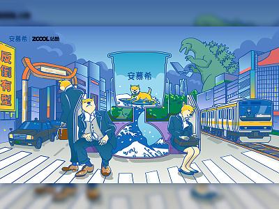 tokyo tokyo art japanese culture japanese art japan illustration