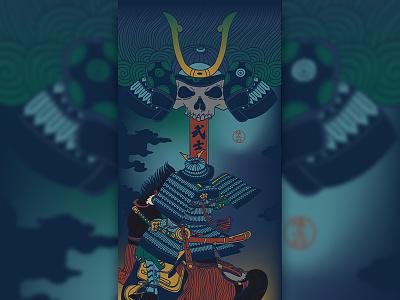 Samurai Of Ukiyo-e 武士 侍 samurai artwork art 浮世絵 ukiyoe japanese culture japanese art japan 浮世绘 illustration