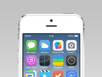 Ios7 reimagined pixels