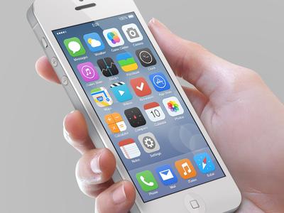 iOS7 Reimagined
