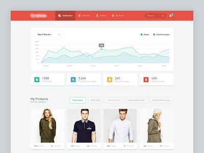 Analytics Dashboard analytics dashboard statistics stats graph web retail