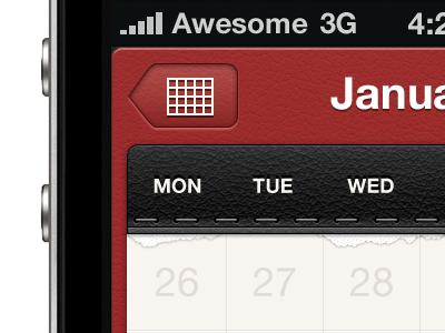WIP - Calendar App