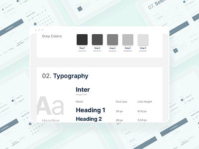 Web Design System branding logo web ux designsystem system graphic design saas b2b