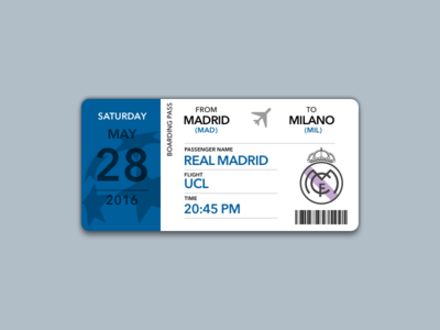 Boarding Pass Champions League