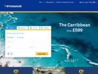 Ryanair Landing Page