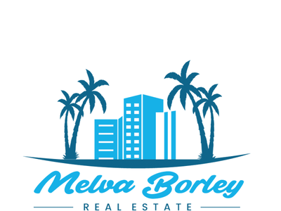 Melva Borley Real Estate Logo Design Project logo ideas florida logo house logo real estate logo logo design