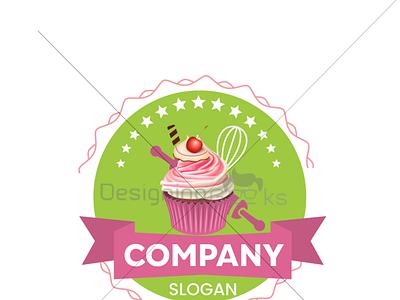 Cake Bakery Shop Logo Design logodesign cake pastry bakery logo