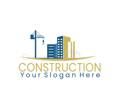 Construction Company Logo Design for sale construction logo houselogo realistic branding logo design realestatelogo logo