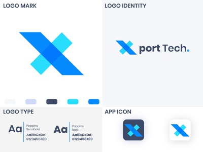 Technology logo Design type graphic design flat app vector minimal logo design branding icon