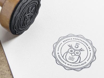 Elementary School elementary owl branding logo school