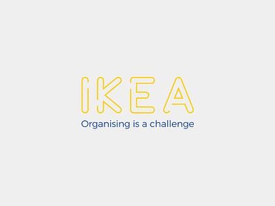 Ikea® logo concept minimal sweden ikea
