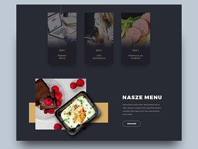 Food v2 web design ui design website web ui health food design