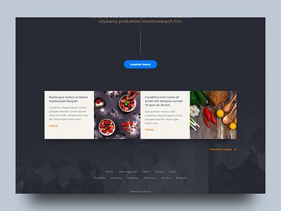 Food v3 web design ui design website web ui health food design