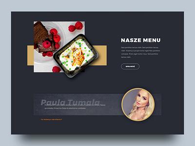 Food v4 web design ui design website web ui health food design