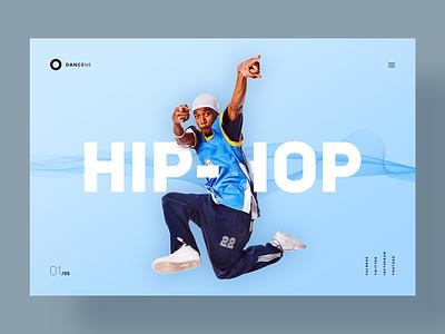 DanceMe lifestyle music brand branding hiphop photoshop minimal webdesign website ux ui graphics