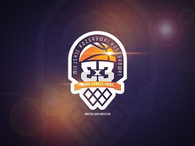 Urban Basketball sports logo identity icon design branding brand basketball ball