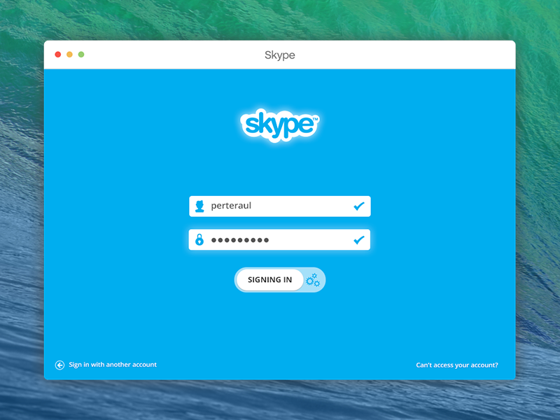 Skype UI in ui skype mac apple ux log
