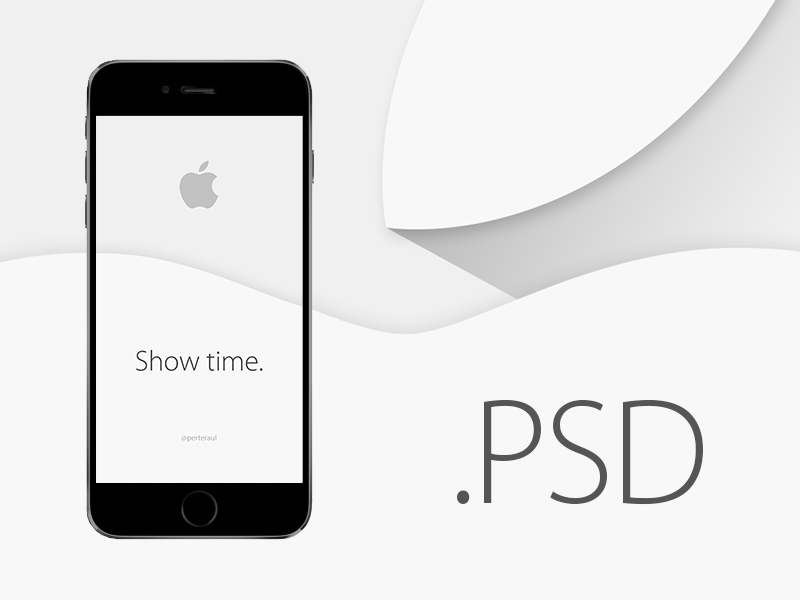 iPhone 6 Mock Up [PSD] mock up psd iphone 6 plus free freebie apple watch background iphone 6