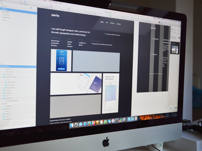 Night Mode freelance sketch interface experience user design portfolio website ux ui mode night