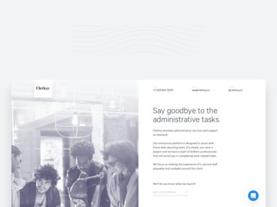 Dieter app design web website interface simple classy minimal ux ui page landing