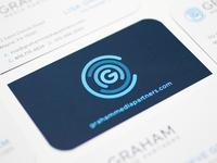 Graham Media Partners Business Card