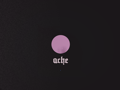 ●○◎○● pink bolita illustration moon circle goth shape