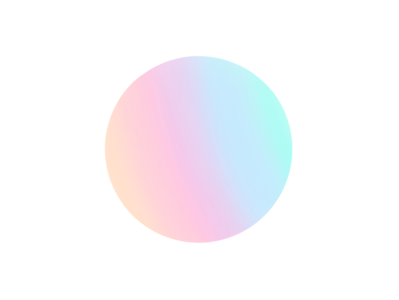 opal gradient yellow green pink blue gradient colourful icon flat design