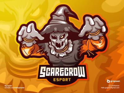 Scarecrow E-Sport / Mascot Logo Design characterdesign character awesome scarecrow teamlogo team gaminglogo gaming game esportlogo esport mascotlogo mascot logodesigner logodesign logo adobeillustator adobe adobe illustrator