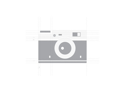 Camera Logo Grid Process