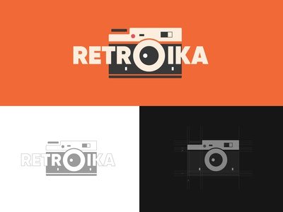 Retroika Film Camera Logo