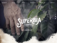 Superbia Coffee Website