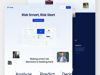 Digital Agency Landing Page design