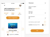 Buying Suggestion UI